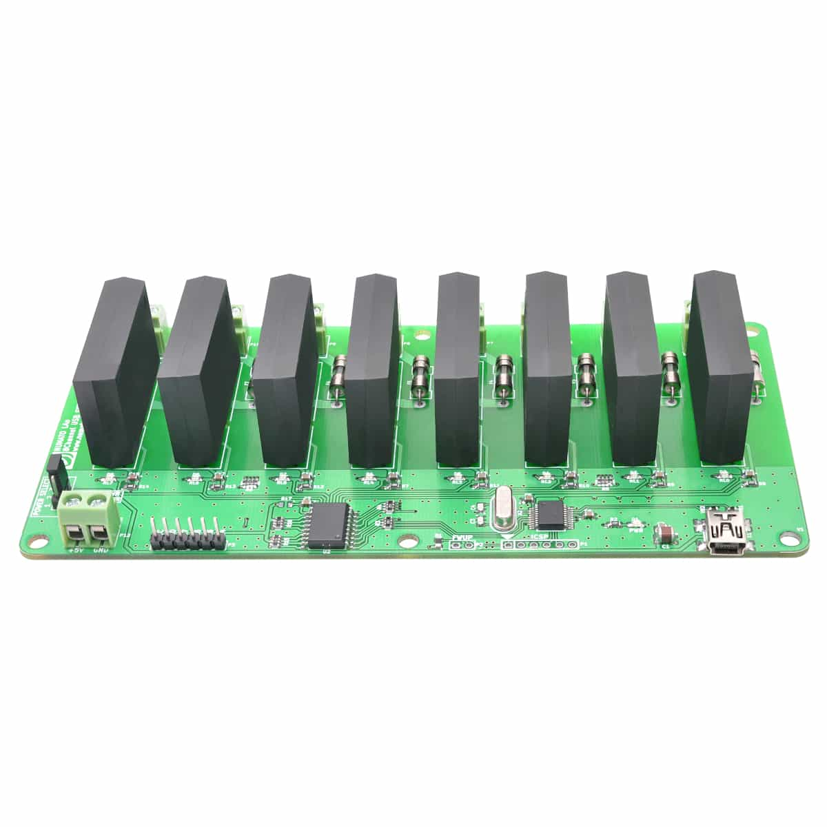 8 Channel USB Solid State Relay Module With GPIO | Numato Lab