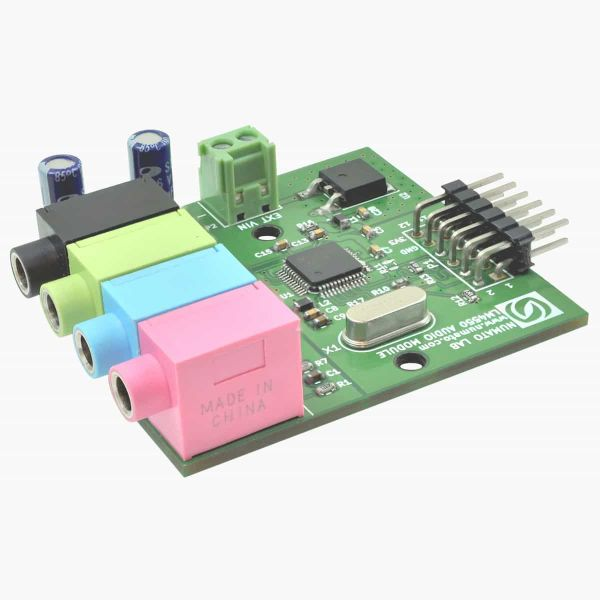 LM4550 Audio Expansion Module for FPGA Development Boards