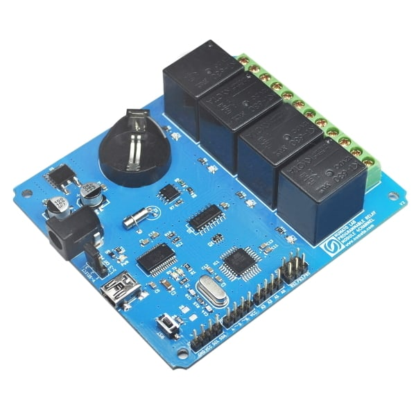 4 Channel Programmable Relay Controller