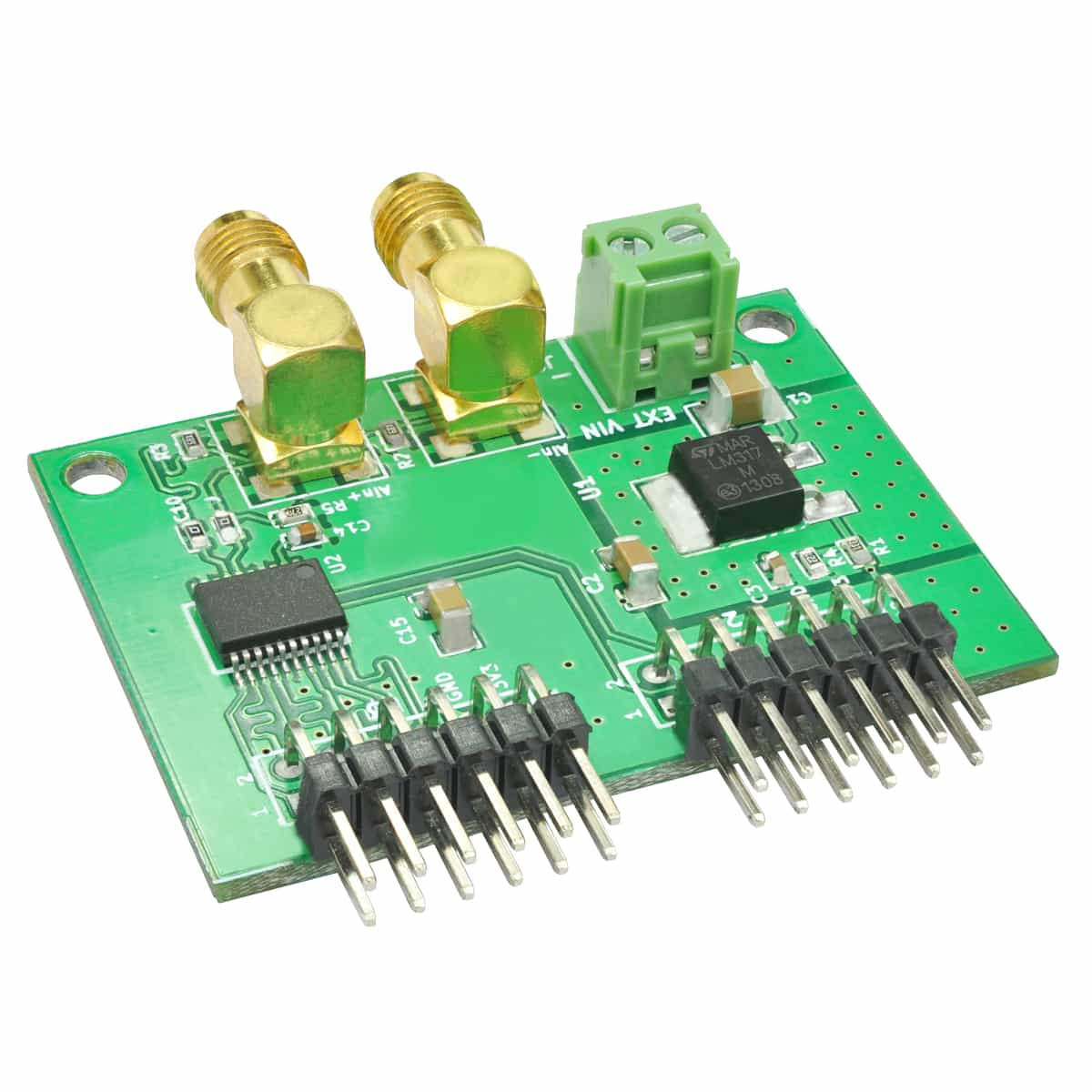 AD9283 ADC Expansion Module -100 MSPS Conversion rate