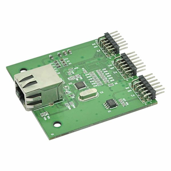 100BASET Ethernet Expansion Module for FPGA Development Boards