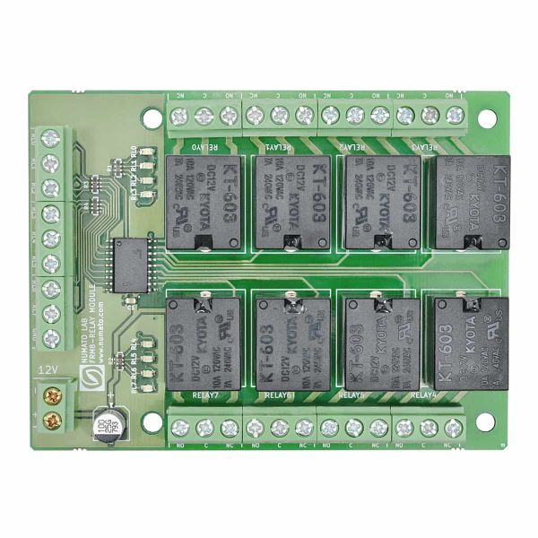 8 Channel Relay Controller Board