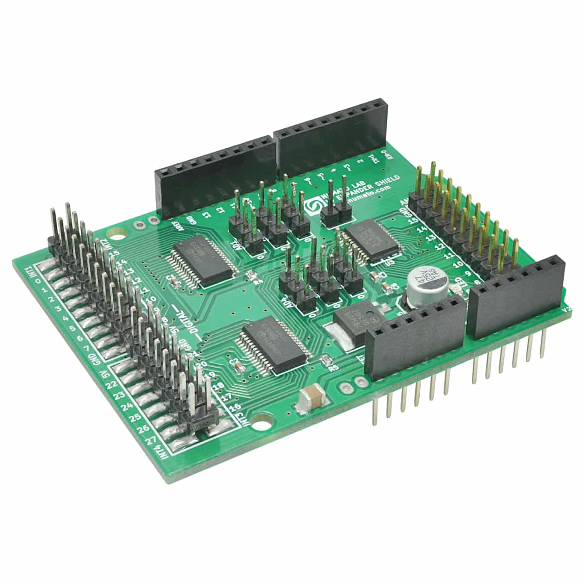 Ds1307 Real Time Clock Breakout I2c Interface Devices Numato Lab Arduino Shield Schematic Digital And Analog Io Expander