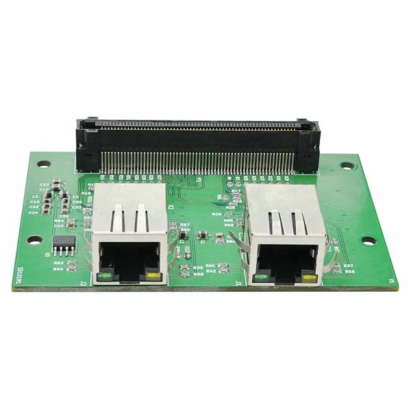 dual 100BASE-T Ethernet Expansion Module for Galatea FPGA Development Board