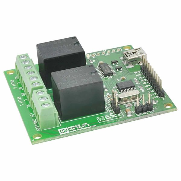 2 Channel USB Relay Module