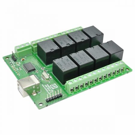 8 Channel USB Relay Module