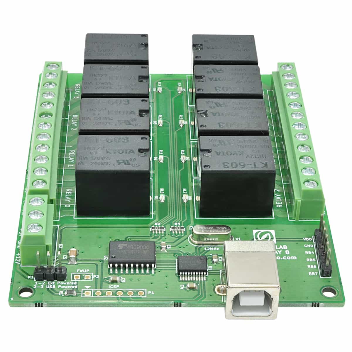 8 Channel Usb Relay Module Numato Lab Basic Question