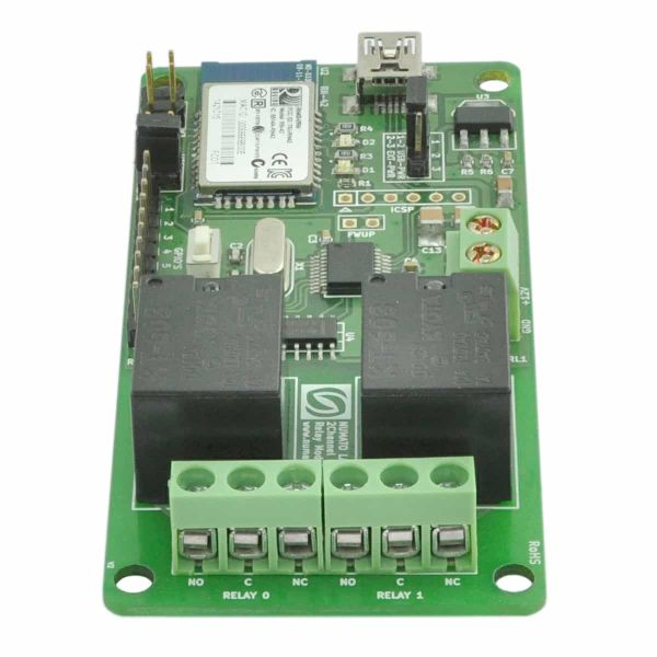 2 Channel Bluetooth Relay Module