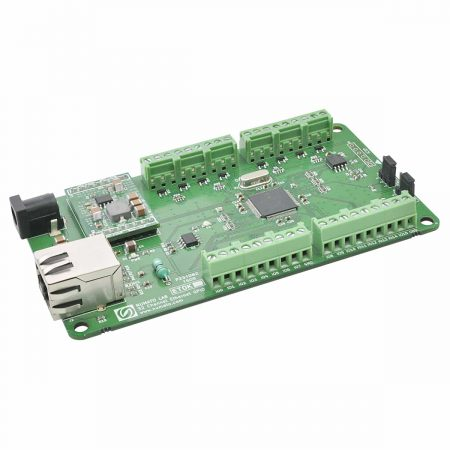 32 Channel Ethernet GPIO Module With Analog Inputs