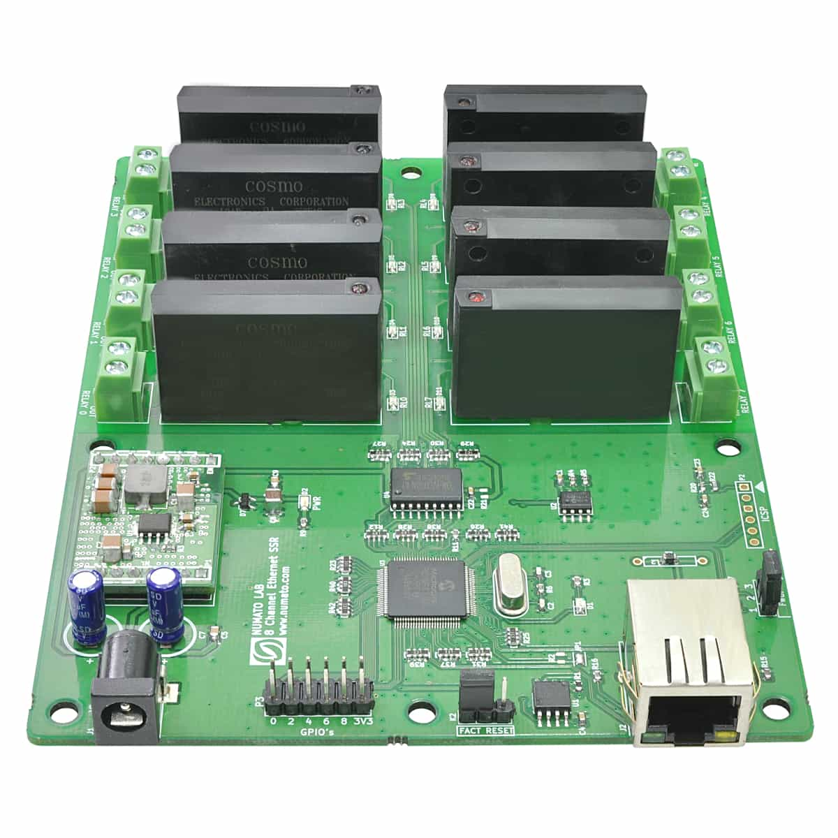 8 Channel Ethernet Solid State Relay Module Numato Lab Wiring Diagram