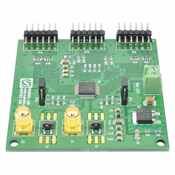 AD9763 DAC Expansion Module