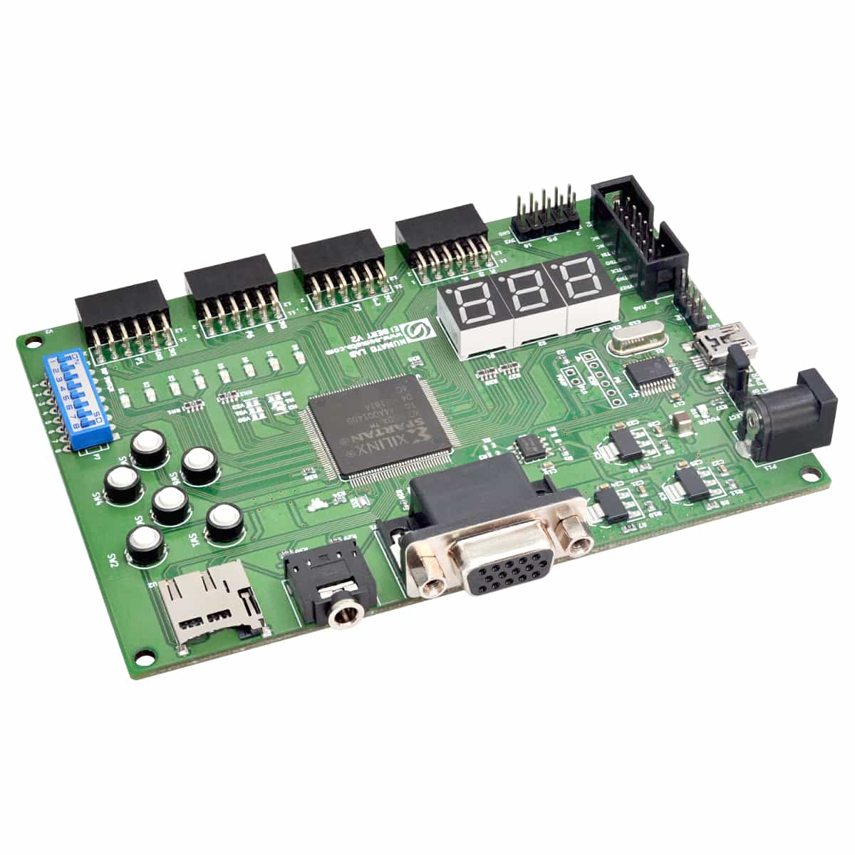 Styx Zynq 7020 FPGA Module With Dual Channel USB Device | Numato Lab