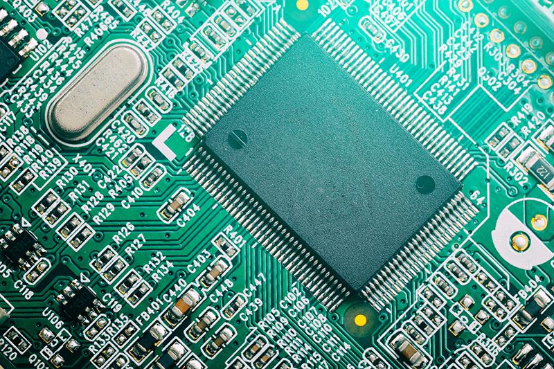 processor and board