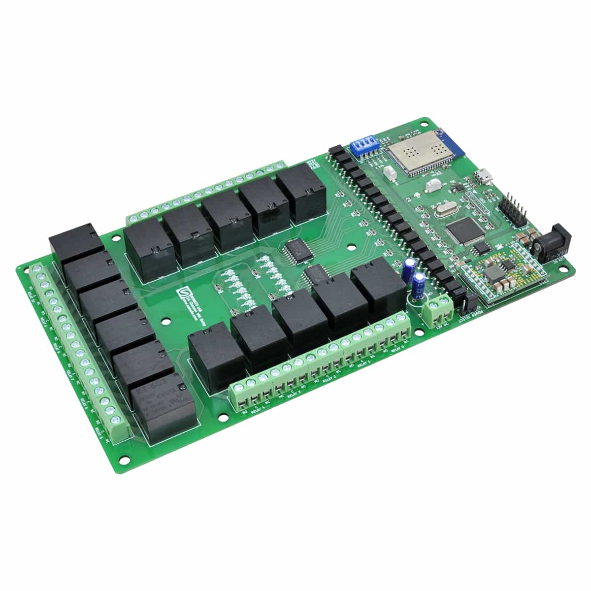 16 channel wifi relay module with gpio analog inputs. Black Bedroom Furniture Sets. Home Design Ideas