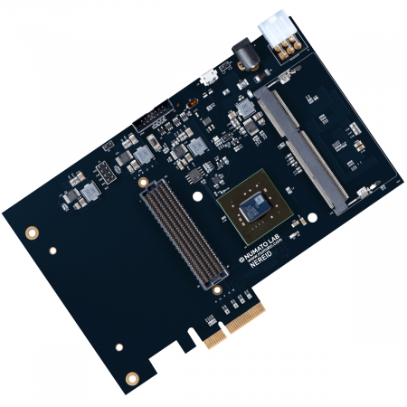 Nereid Xilinx Kintex 7 FPGA board with PCI Express and DDR