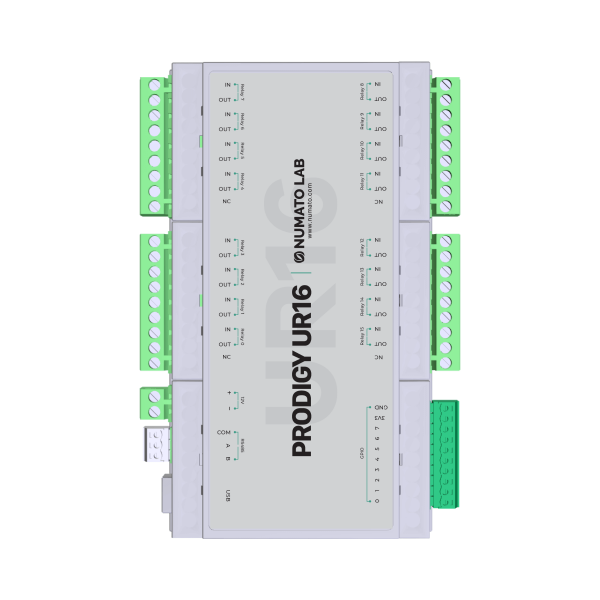 UR16- USB Modbus Relay Module with GPIO and Analog Inputs - 2