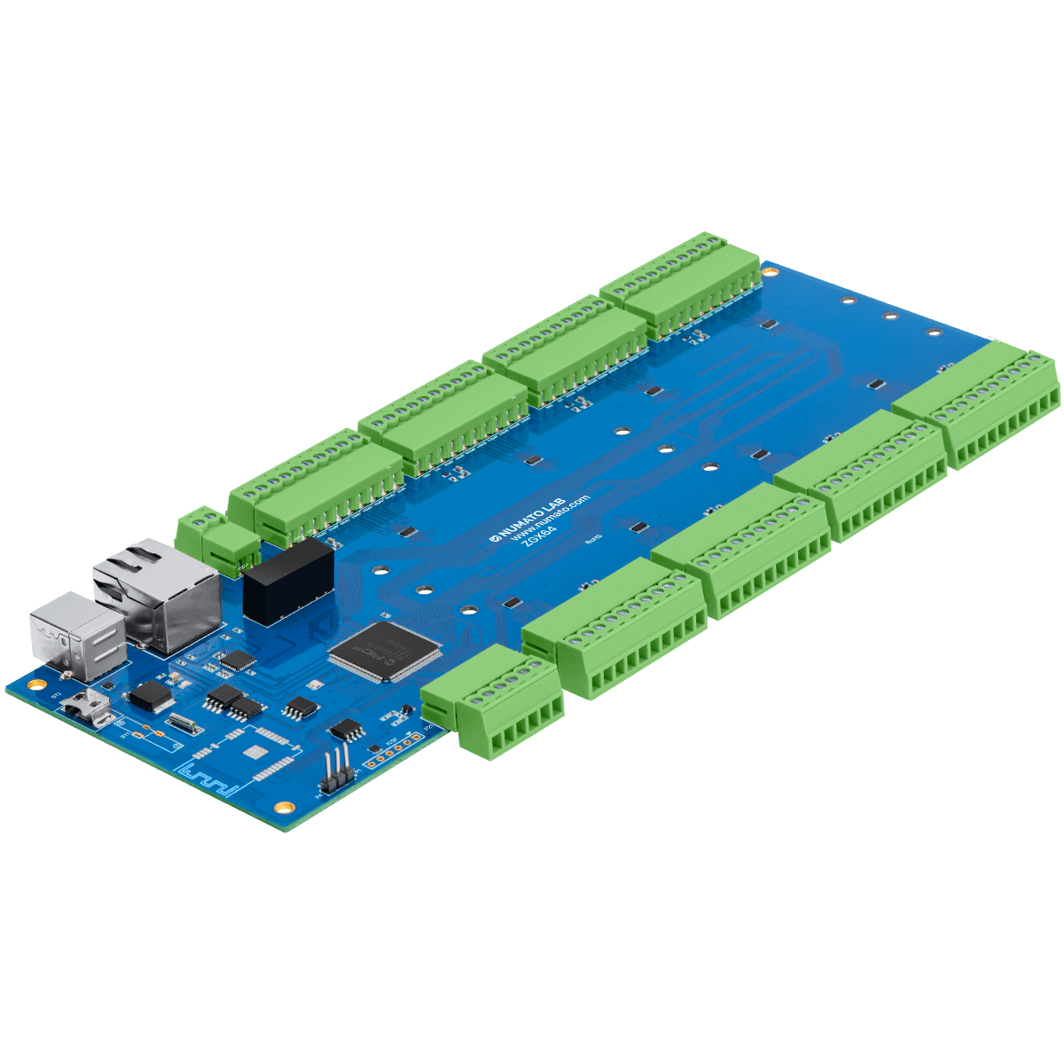 Prodigy RTU/TCP Modbus GPIO Modules With Analog Inputs (DIN