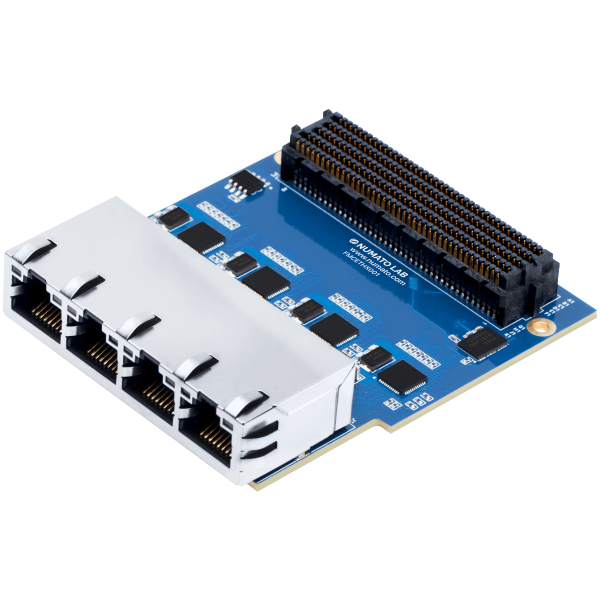 4 Port Gigabit Ethernet FMC Module