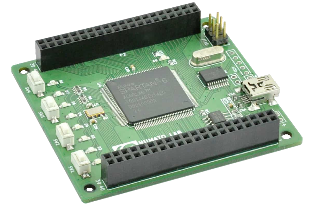 Mimas Spartan 6 Fpga Development Board Numato Lab